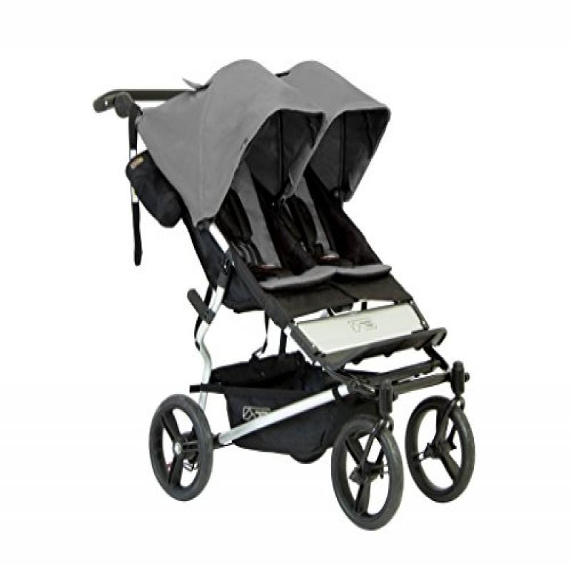 Mountain Buggy Duet 2016 Double Stroller, Flint by Mountain Buggy
