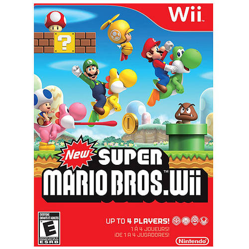 New Super Mario Bros (Wii) - Pre-Owned