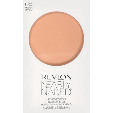 Revlon Nearly Naked Pressed Powder, Fair, 0.28 Oz