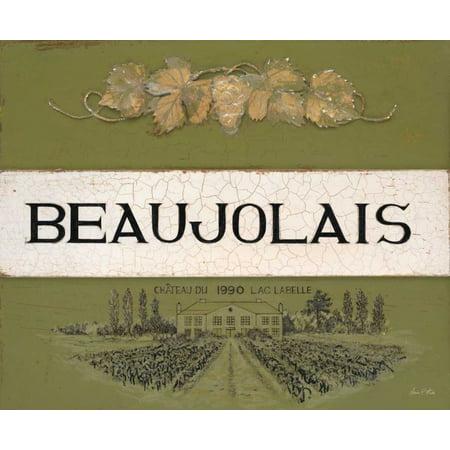 Reserve Cellars - Beaujolais Cellar Reserve Stretched Canvas - Arnie Fisk (20 x 24)