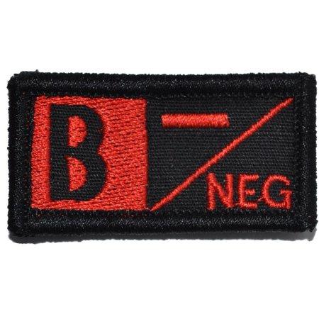 Blood Type B NEG - 1x2 Patch