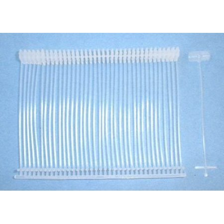 Standard / Regular 2  Tag gun fasteners / 5000 5,000 2  Standard Tag Gun Barbs !! These are High Quality barbs and will work with any brand STANDARD or Regular Tag Gun . These will not work in Fine fabric Guns !  any of our products or would like to discuss a custom order, please feel free to contact us. High quality, good service.We are looking forward to forming successful business relationships with new clients around the world in the near future.