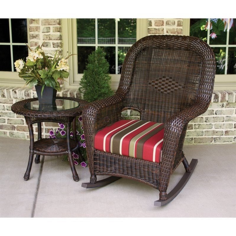 Tortuga Sea Pines 2 Piece Patio Rocking Set