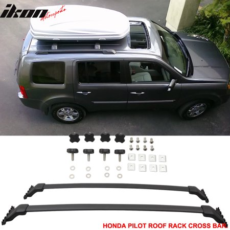 Fits 09-15 Honda Pilot OE Factory Style Roof Rack Cross Bar Black