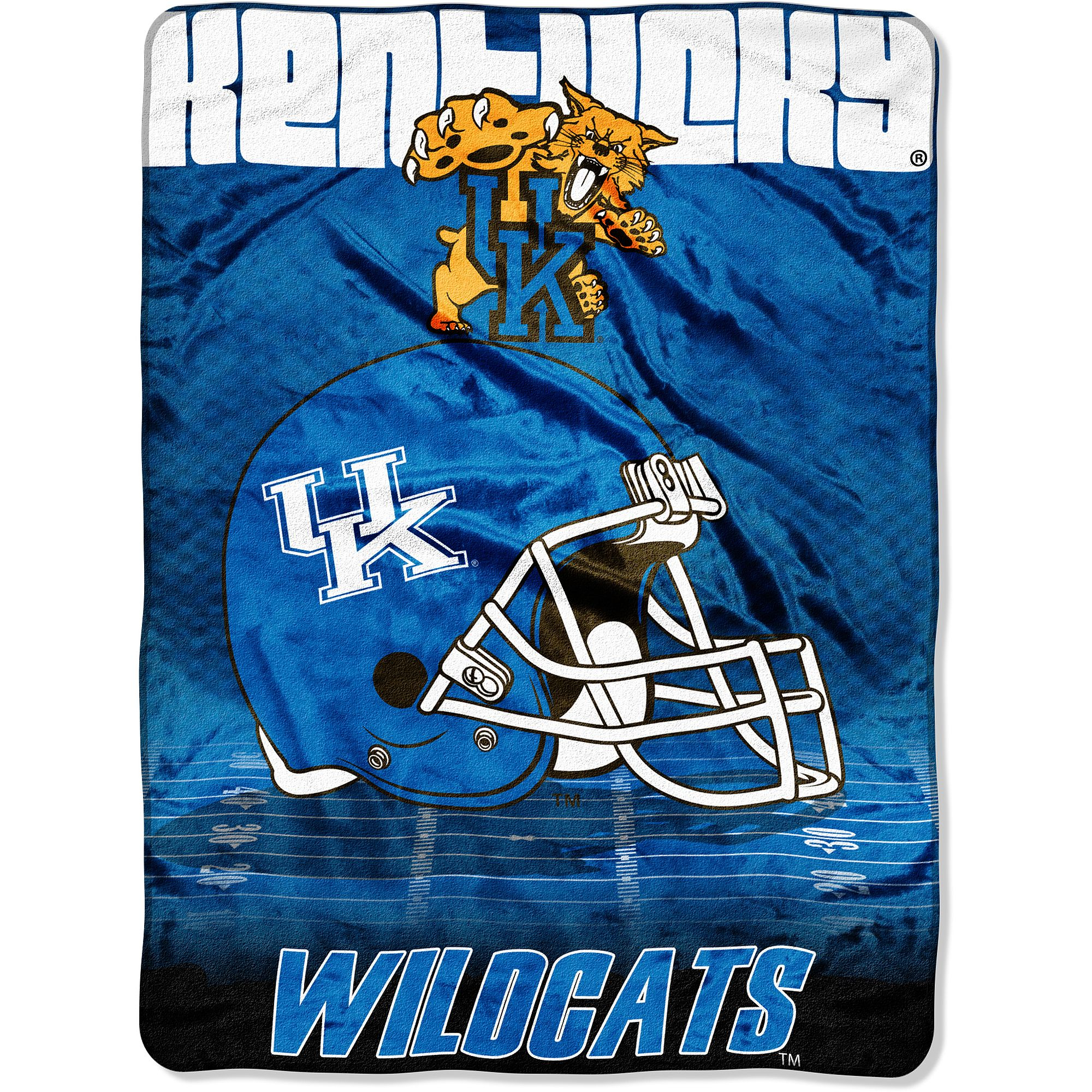 NCAA Kentucky 60x80 Micro Raschel Blanket