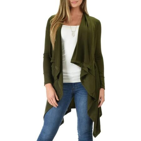 Lyss Loo - Lyss Loo Women s Good Natured Cozy Sweater Cardigan - Walmart.com a6263d733