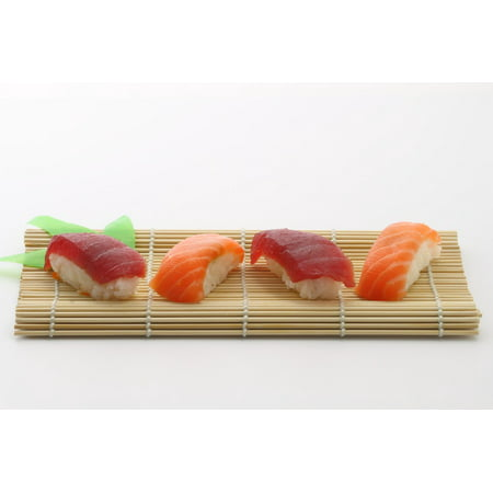 Canvas Print Delicious Yummy Asian Japanese Food Sushi Stretched Canvas 10 x 14