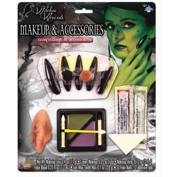 Halloween Witch Doctor Makeup (WITCH MAKEUP KIT)