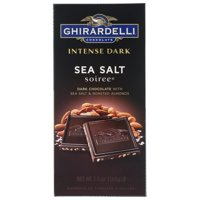 12-Pack Ghirardelli Intense Dark Sea Salt Soiree