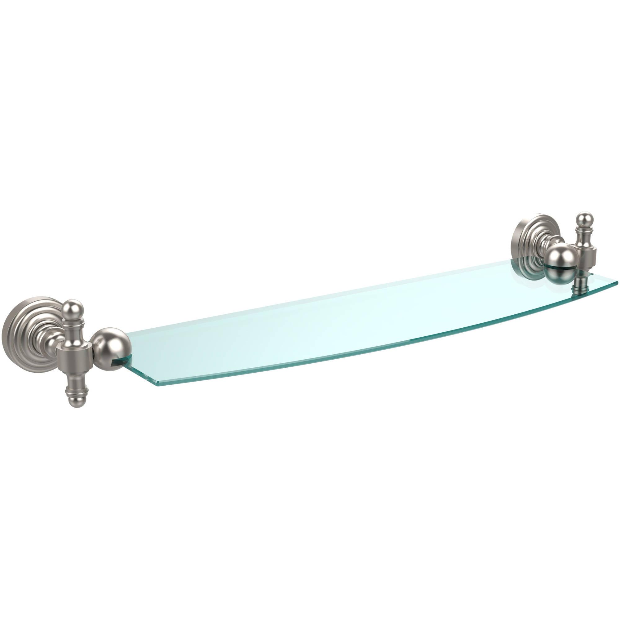 """Retro Wave 18"""" Glass Shelf (Build to Order)"""