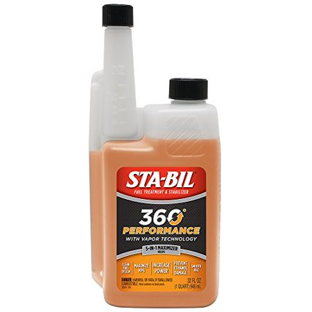 360 Performance w/ Vapor Technology Protects Engine & Fuel System 32oz by Stabil