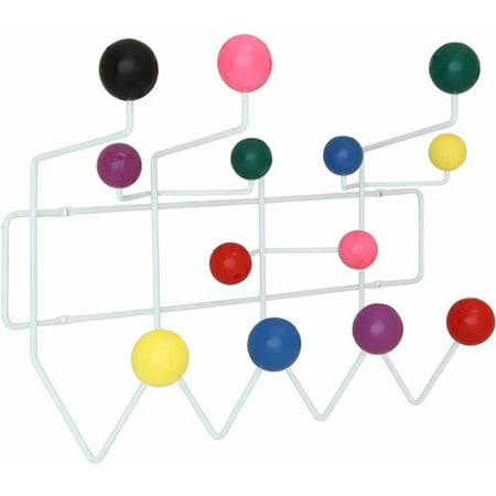 Modway Gumball Coat Rack with Steel Rod Frame, Multiple Colors