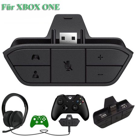 Xbox One Headset Adapter Stereo Headphone Audio Game Adapter For Microsoft Xbox One Controller ()
