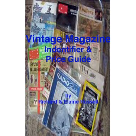 Vintage Magazines Identifier and Price Guide - eBook
