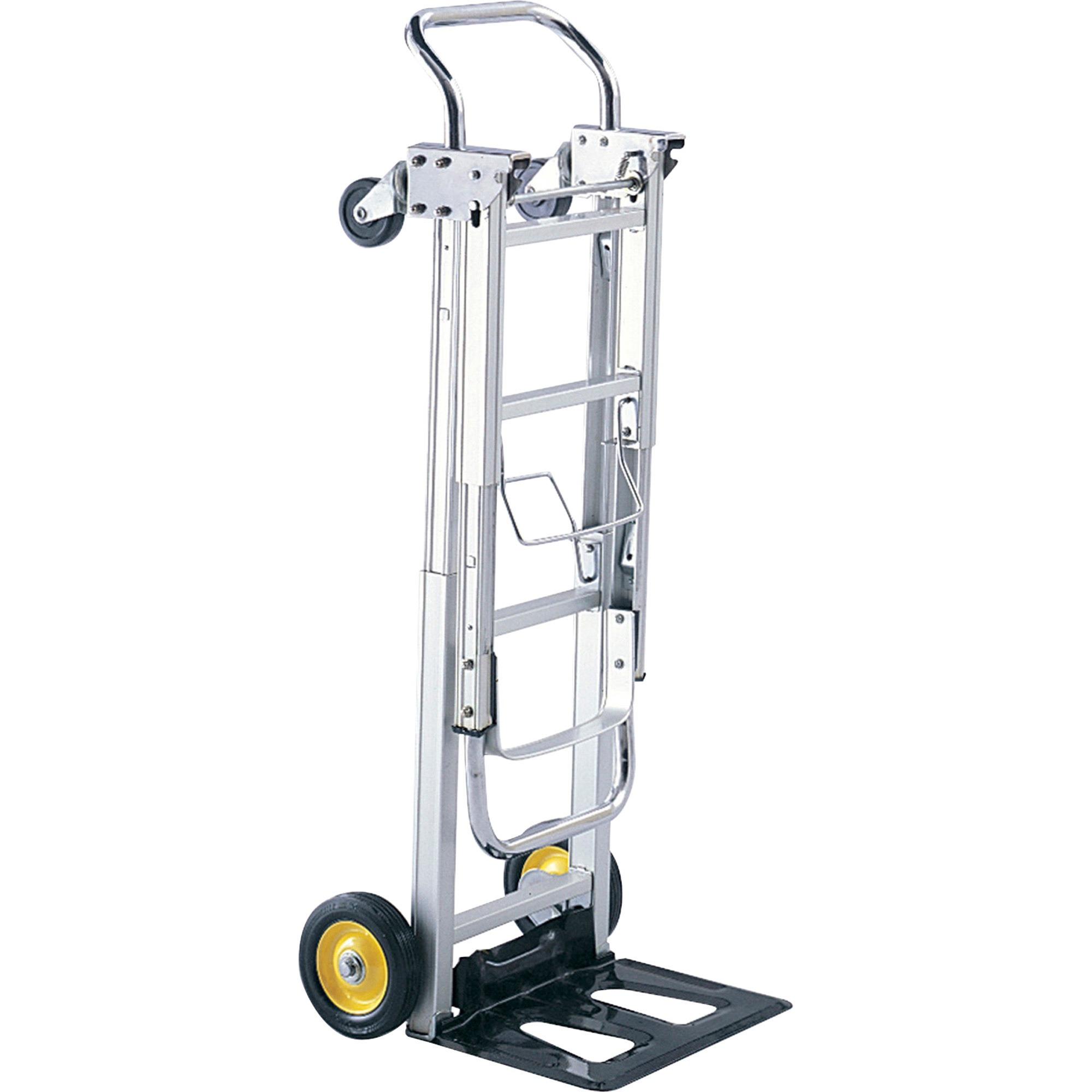Safco, SAF4050, HideAway Convertible Hand Truck, 1 Each, Silver