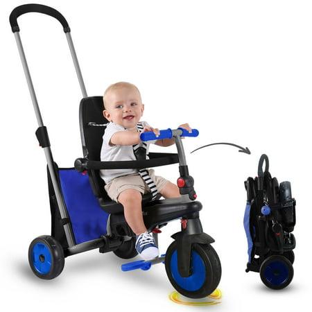 smarTrike smarTfold 300 - 5 in 1 Folding Baby Tricycle Smart Trike