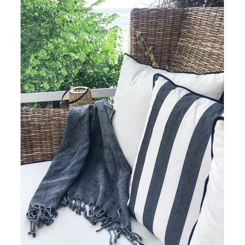 Highland Dunes Selsey Stonewashed Turkish Cotton Bath Towel