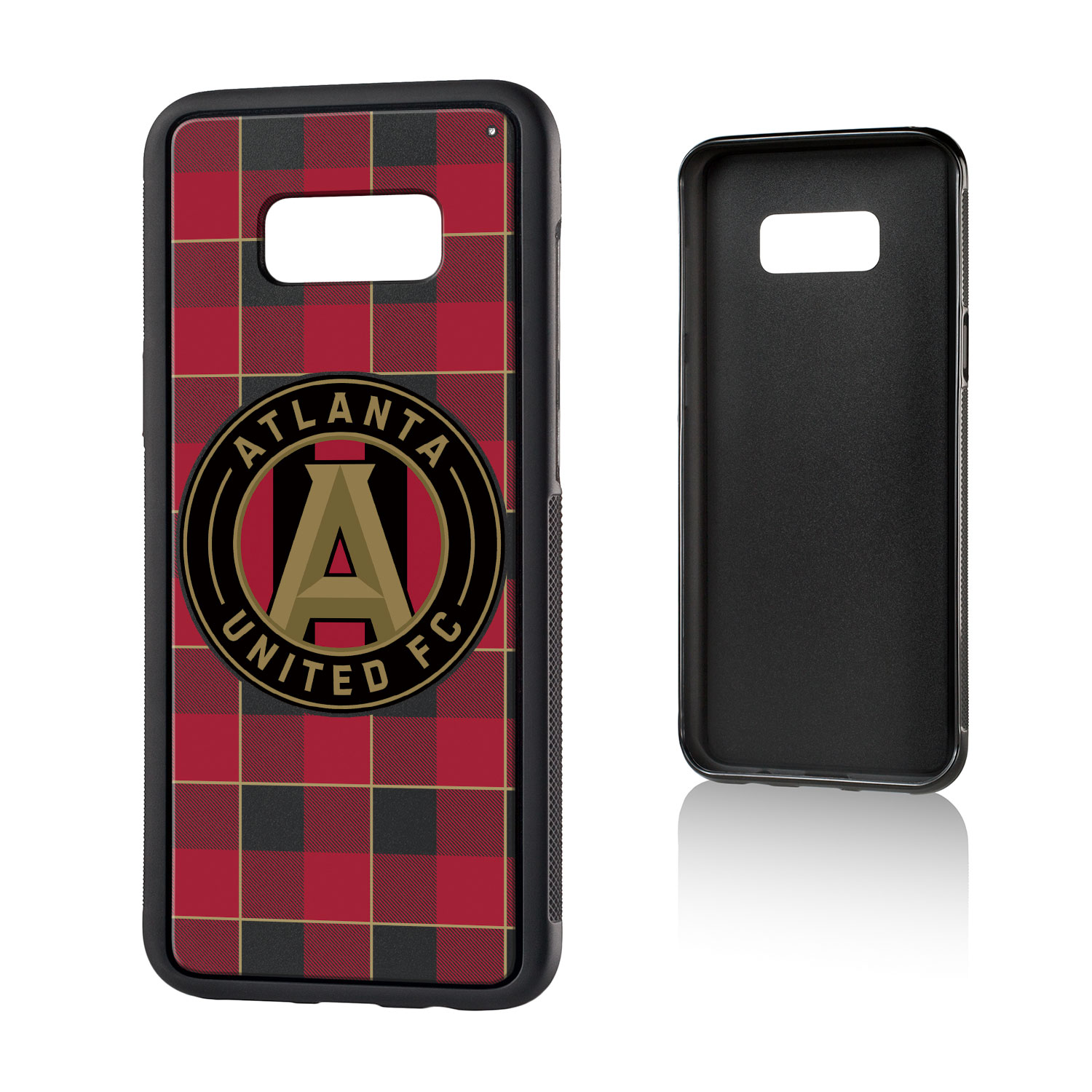 Atlanta United FC ATLUTD Plaid Bump Case for Galaxy 8+
