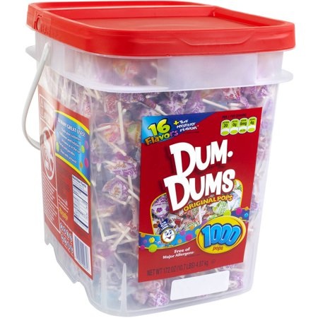 Dum-Dum Original Pops, 10.7 Lb., 1,000 Count (Dum Dum Save Wraps)