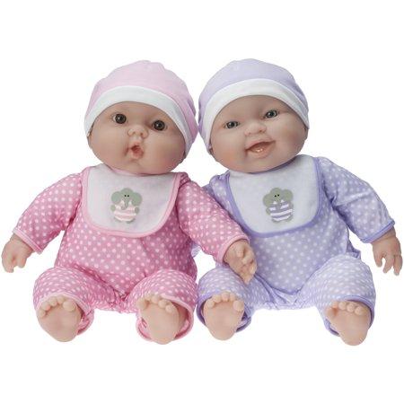 Lots To Cuddle Babies Twin Dolls Walmart Com