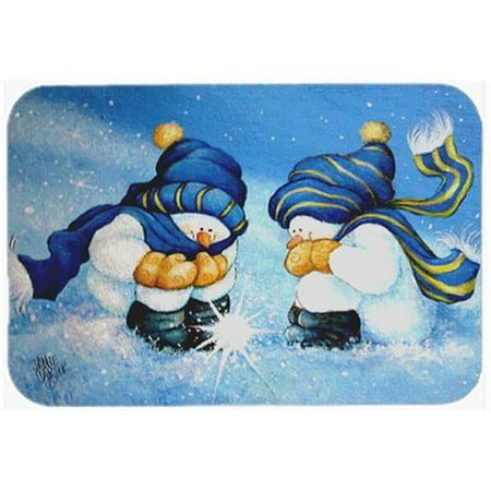 (We Believe In Magic Snowman Kitchen & Bath Mat, 24 x 36 in.)