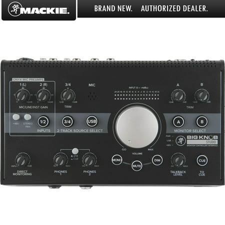 Mackie Big Knob 3x2 Studio Monitor Controller - 96kHz USB (Spl Surround Monitor Controller)