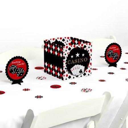 Las Vegas - Casino Party Centerpiece & Table Decoration Kit - Las Vegas Decorations
