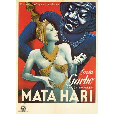 Mata Hari POSTER Movie Mini Promo - Juan Mata Halloween