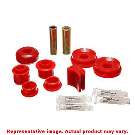 Energy Suspension 05-07 Ford Mustang Red Rear Upper Control Arm Bushings ()