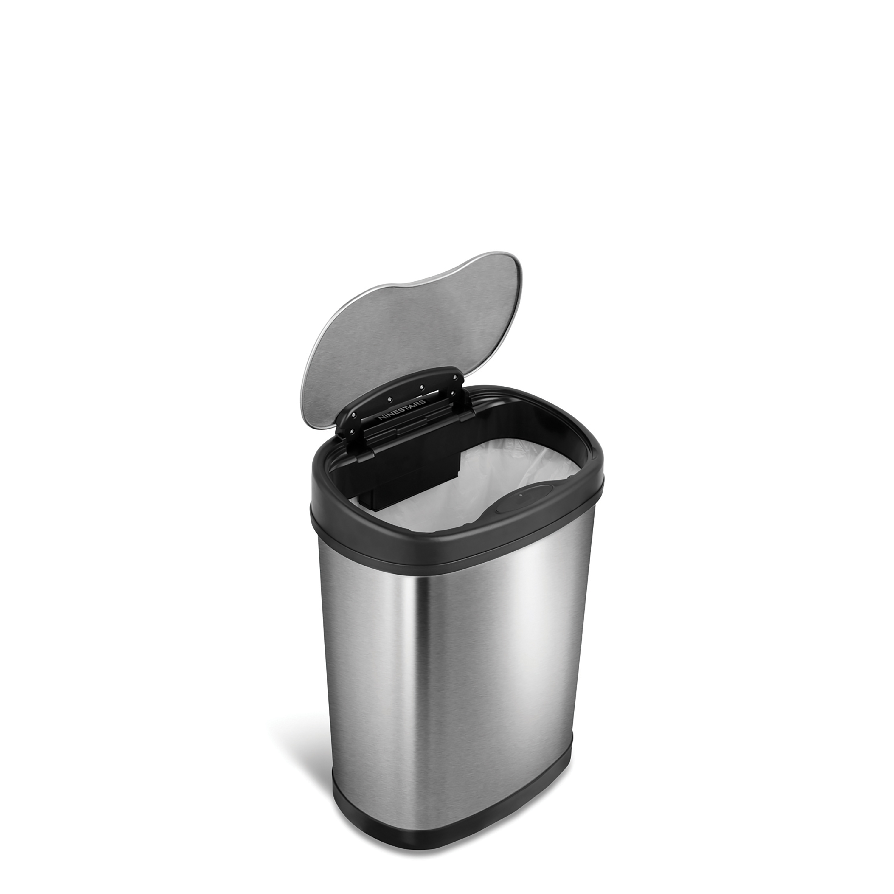 Motion Sensor Touchless Small Trash Can Stainless Steel Kitchen
