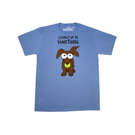 Clearly Up To Something-long haired dachshund T-Shirt (Shawn Mendes Something Big)