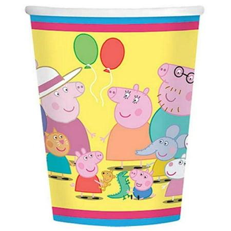 Peppa Pig Plastic Cup (Cups - Peppa Pig - 9oz Paper -)
