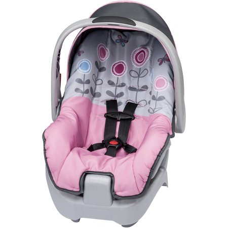 evenflo nurture infant car seat button floral. Black Bedroom Furniture Sets. Home Design Ideas
