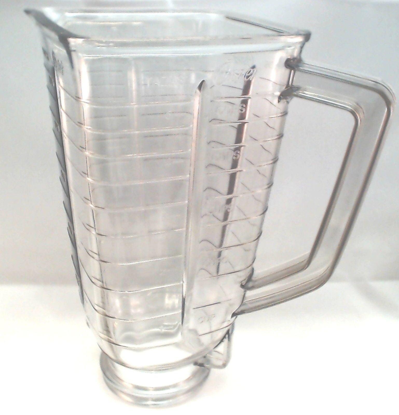 Sunbeam / Oster Blender Jar, Square Top Plastic, 027472-000-089