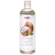 NOW Foods Pure Fractionated Liquid Coconut Oil 16 fl oz Liquid