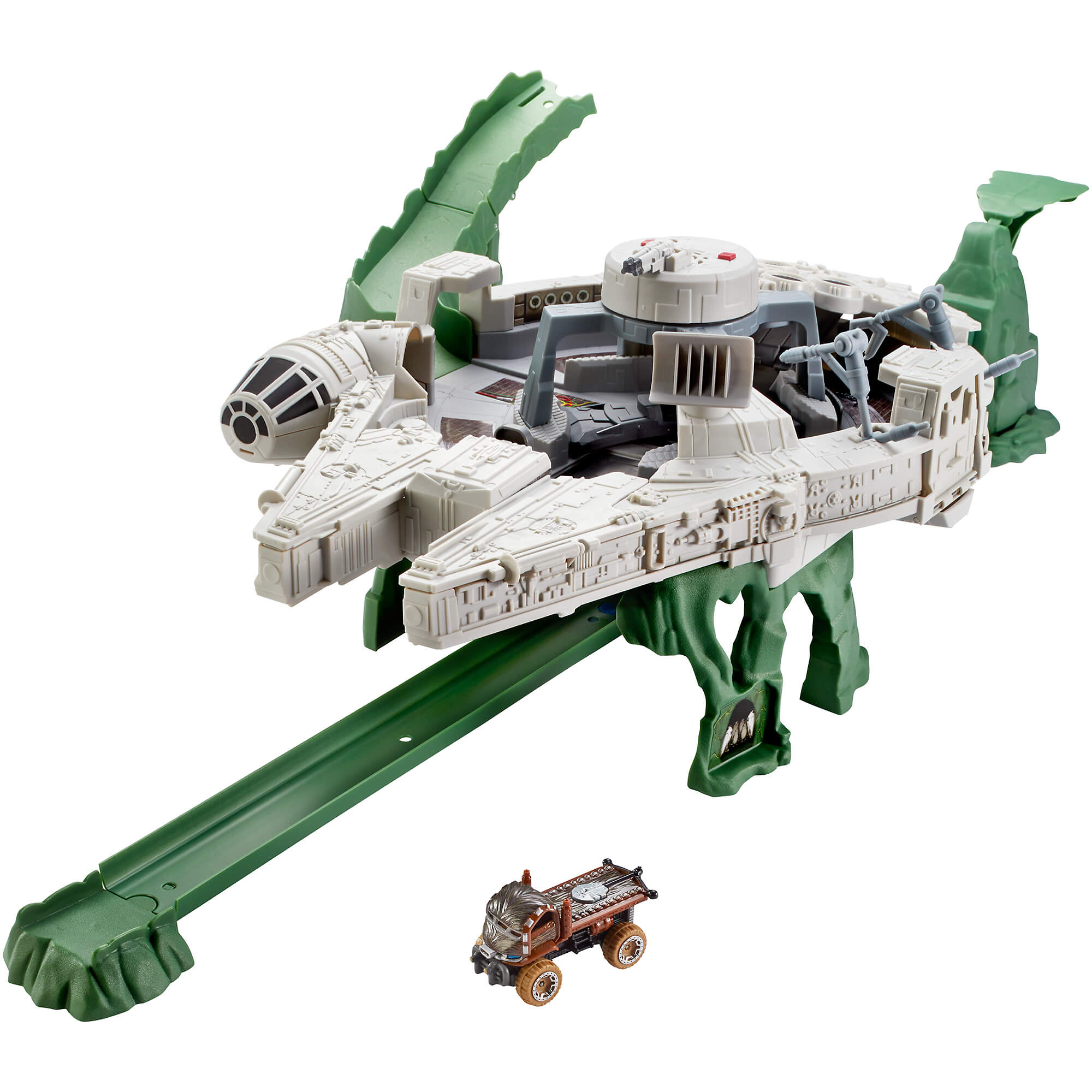 Hot Wheels Star Wars Millennium Falcon Character Car Track Set by Mattel