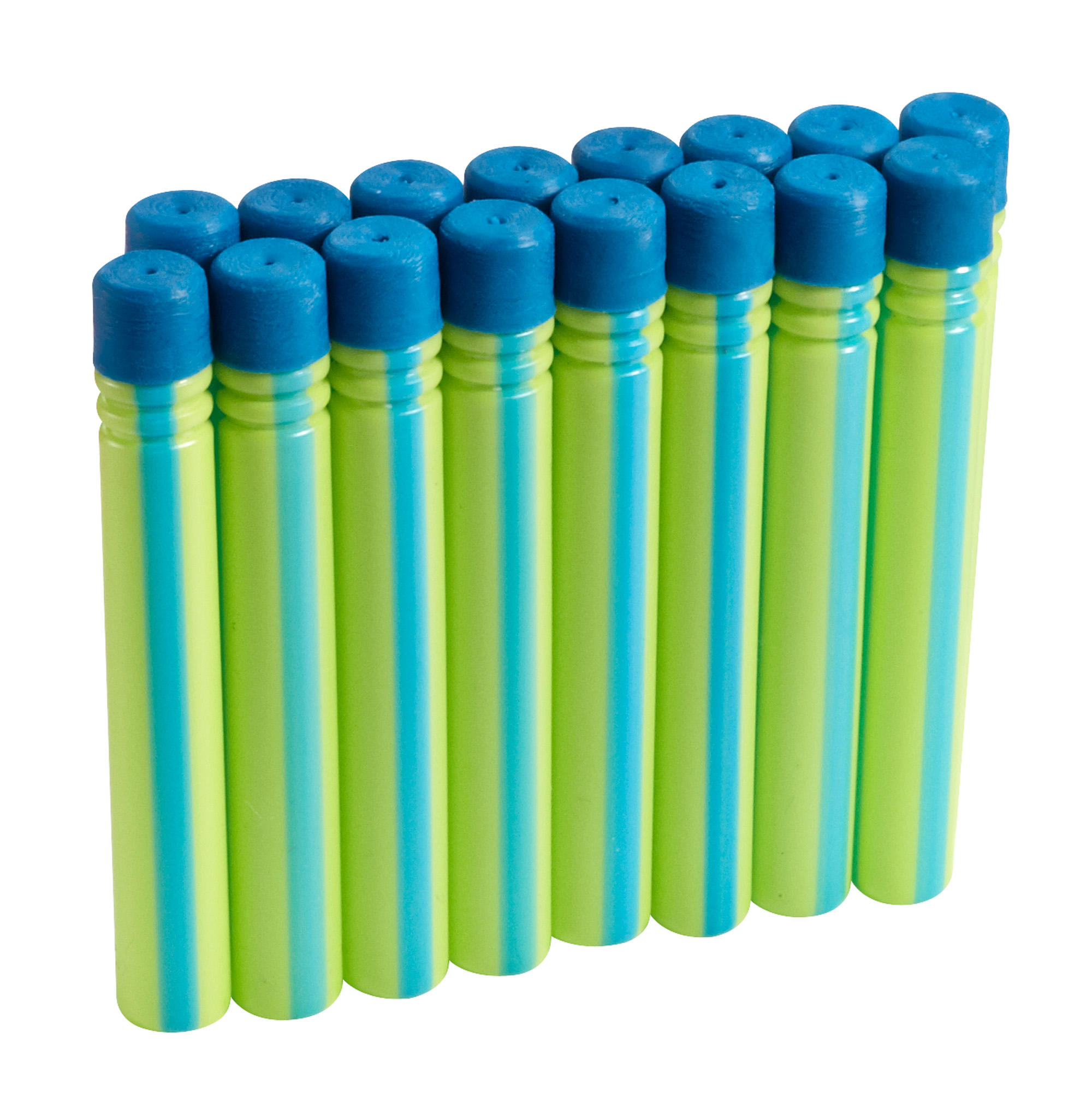BOOMCO Dart Green with Blue Stripe