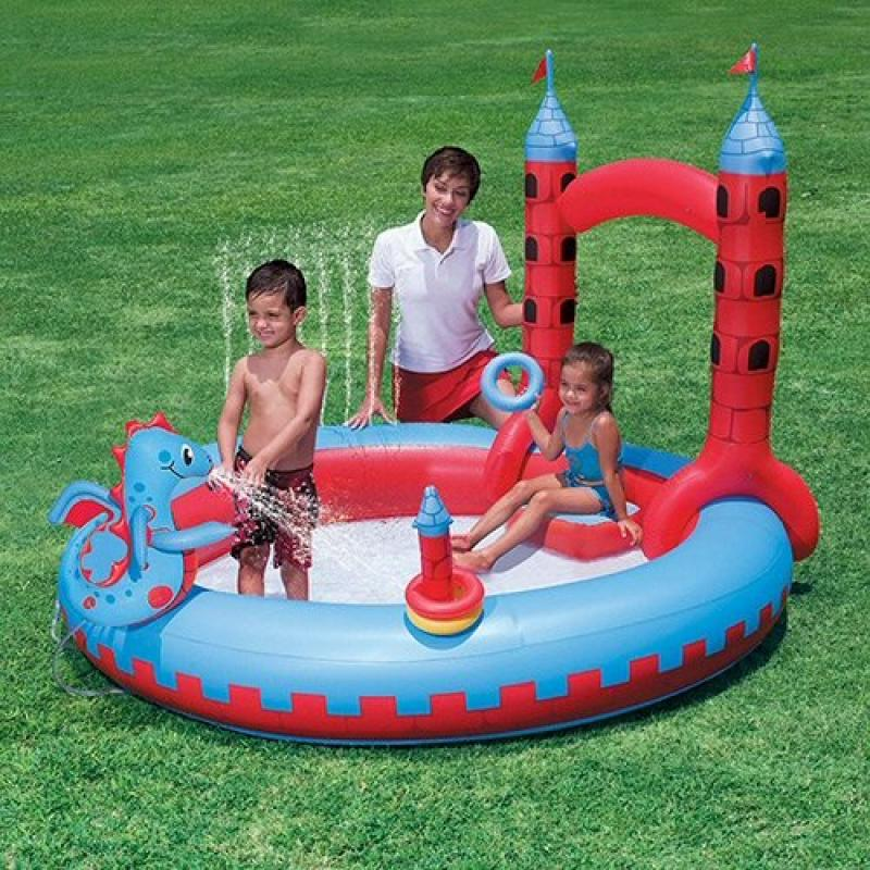 Bestway Splash and Play Interactive Castle Play Center Pool
