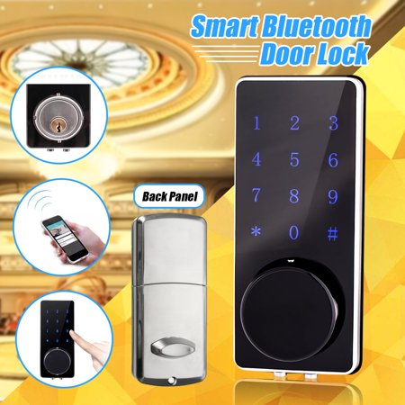 bluetooth Smart Digital Door Lock APP Deadbolt Keyless Touch Password Home (Best August Smart Locks)