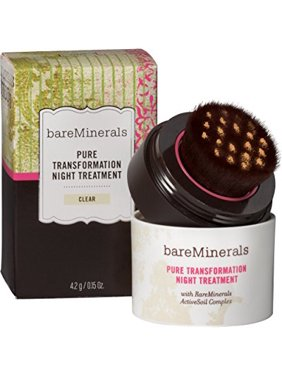 bareminerals pure transformation clear night treatment, 0.15 ounce
