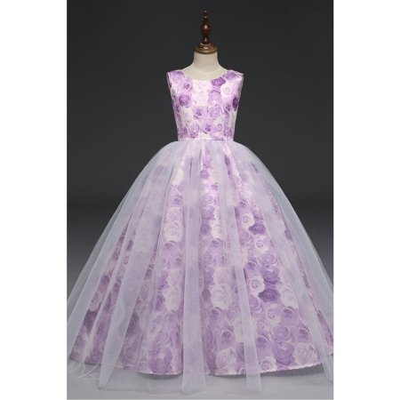 Kids Baby Girls Fancy Birthday Weddings Dress - Fancy Dresses For Girls