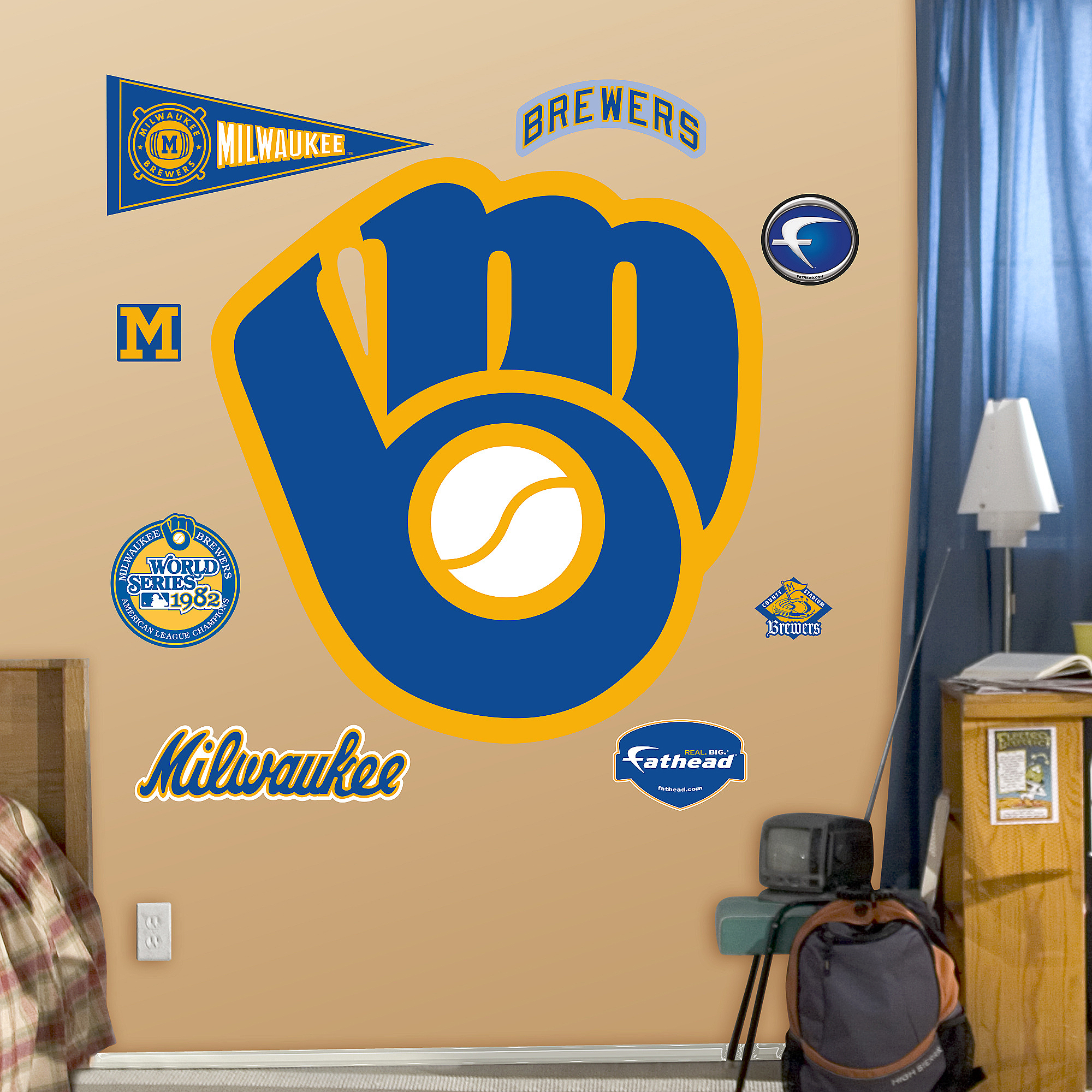 Brewers Throwback Logo
