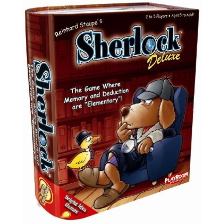 Sherlock Deluxe- The Game Where Memory and Deduction are Elementary! - Elementary School Halloween Game Ideas