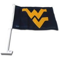 NCAA West Virginia Car Flag - Generic Brand