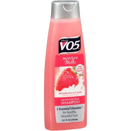 Alberto VO5 ® humidité Laits Fraises et crème hydratante Shampooing 12.5 fl. onces. Bouteille