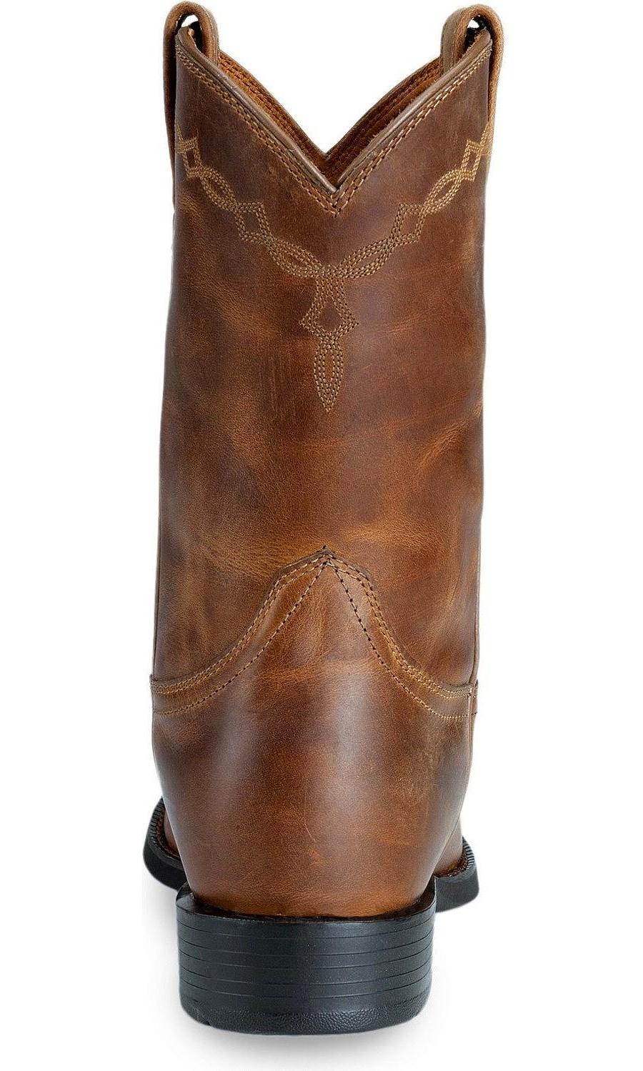 dd0de40f777 Ariat Men's Heritage Roper Western Cowboy Boot, Distressed Brown, 12 D US