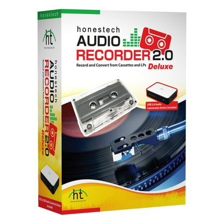 Honest Technology Audio Recorder 2.0 Deluxe - Entertainment - 1 Mini Box Retail (ard2m)
