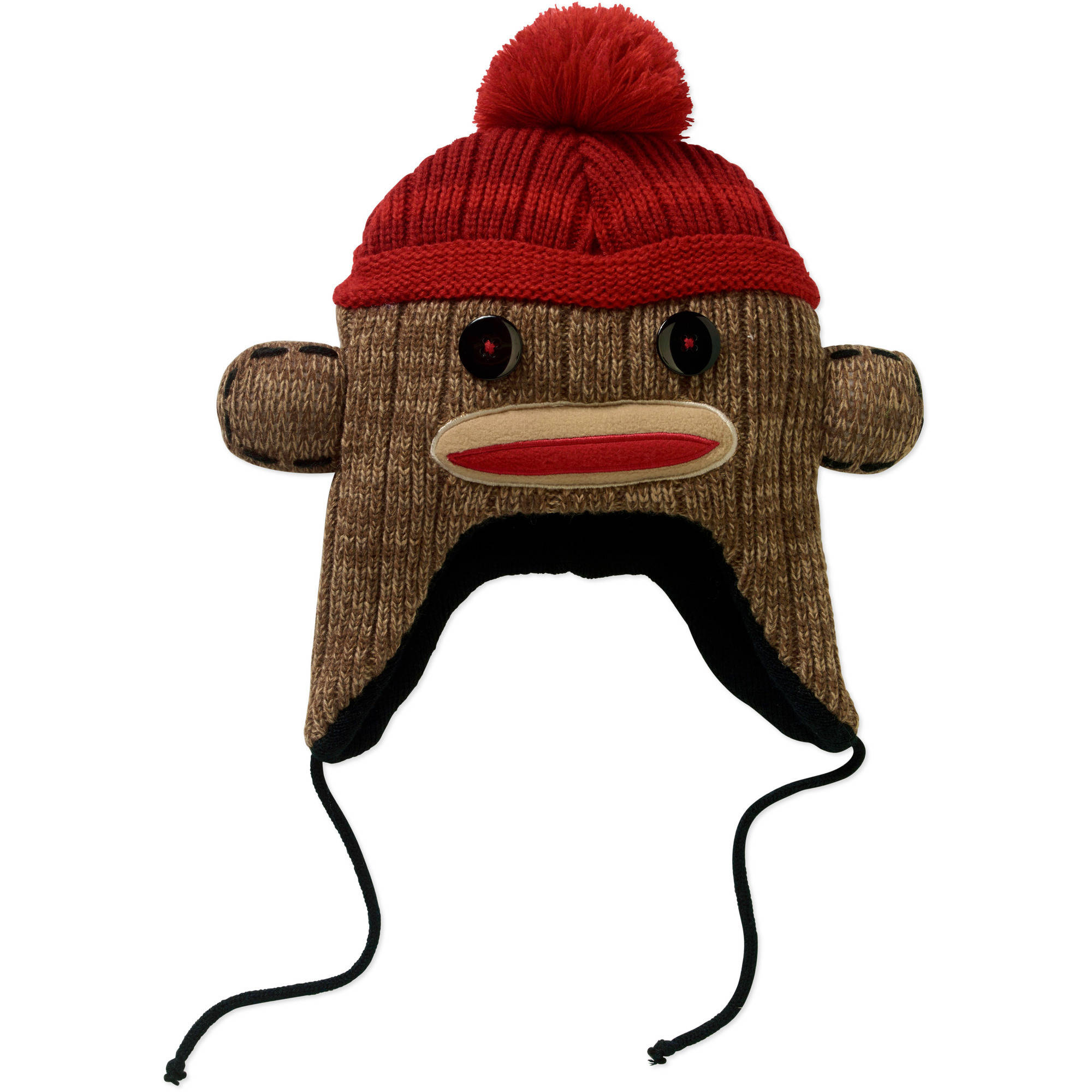 Sock Monkey Laplander Men's Hat