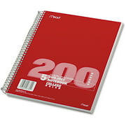 Mead 5-Subject Spiral Notebook - 200 Sheet, College Rule
