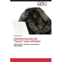 """Construcciones de """"Hacer"""" Mas Infinitivo"""